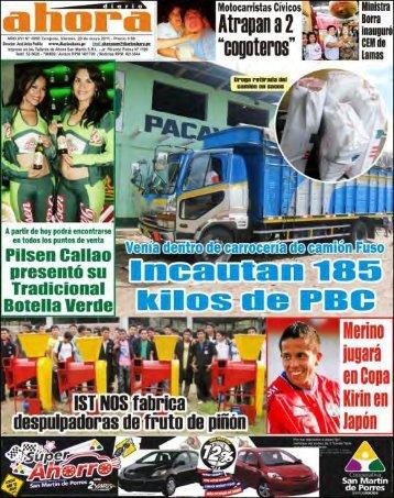 (Región San Martín) hasta Ol - Diario Ahora
