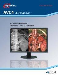 AVC4 LCD Monitor - Quest International