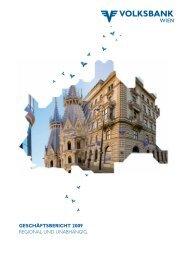 geschäftsbericht 2009 regional und unabhängig. - Volksbank Wien AG