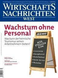 Ausgabe 07/2013 Wirtschaftsnachrichten West