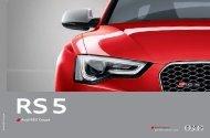 Audi RS 5 Coupé - Audi South Africa