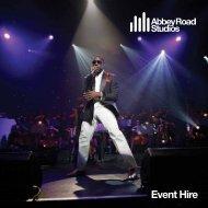 Events Brochure - Abbey Road Studios