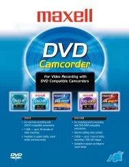 DVD Camcorder - Maxell Canada