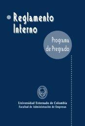 Reglamentos - Pregrado - Universidad Externado de Colombia