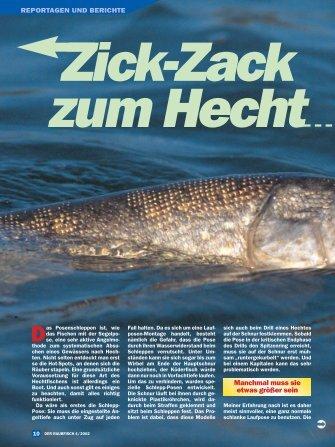 Zick-Zack zum Hecht - Raubfisch