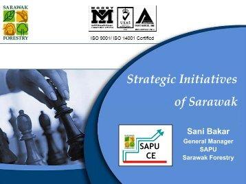 Strategic Initiatives of Sarawak - Inece