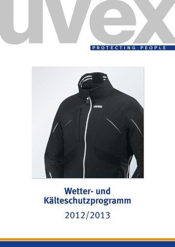 Wetter- und Kälteschutzprogramm - UVEX SAFETY