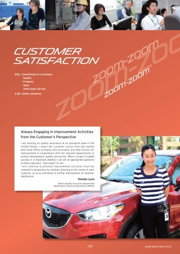 Customer Satisfaction - Mazda