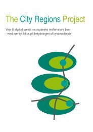 The City Regions Project - Danish (pdf 3 MB) - Aarhus.dk