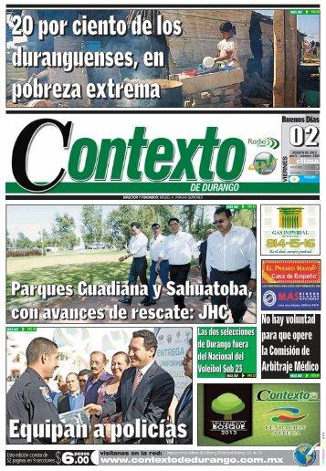 02/08/2013 - Contexto de Durango