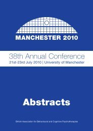 Conference abstracts - Goodmedicine.org.uk