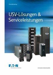 USV-Produktkatalog - Powerware