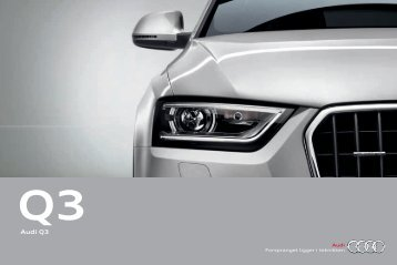 Brosjyre Audi Q3