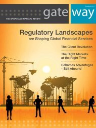 Gateway - Issue 2 - Bahamas Financial Services Board