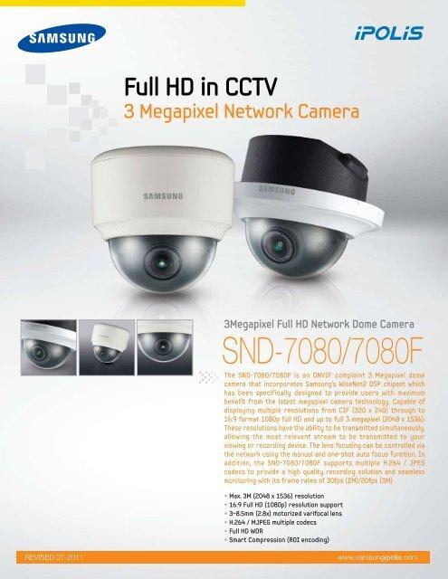 DRIVER: SAMSUNG SND-7080F NETWORK CAMERA