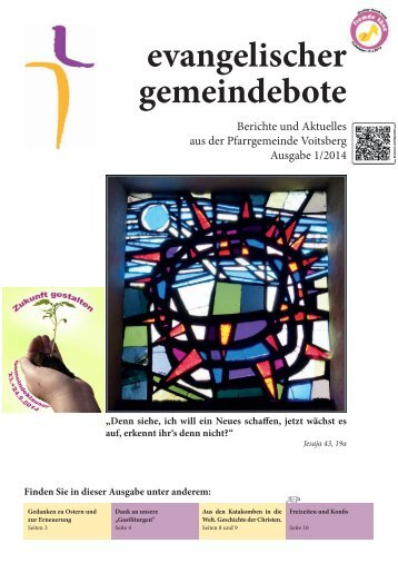 evangelischer gemeindebote 1/2014