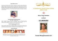 Swami Mangalananda Giri - Kriya Yoga Institute