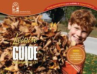 to download the complete Leisure Guide - Port Hope