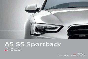 A5 S5 Sportback - Audi