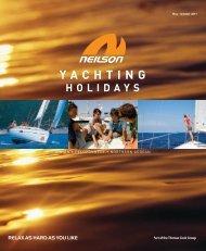 Yachting holiday - Travel Club Elite