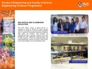 ESP Facilities - Engineering Science Programme