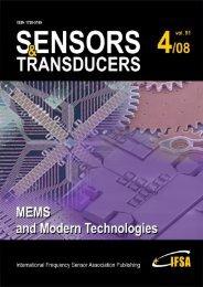 Design of MEMS Cantilever - Hand Calculation - International ...