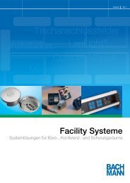 Facility Systeme - Bachmann GmbH & Co. KG