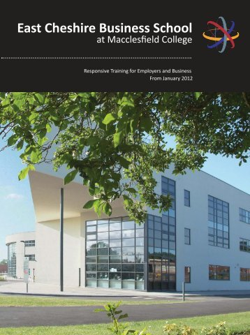 Download our Employer Brochure (PDF 7.75mb) - Macclesfield ...