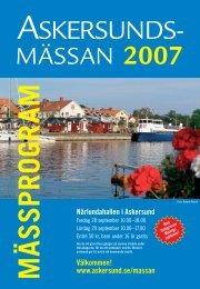 Mässprogram 07.pdf - Askersunds kommun