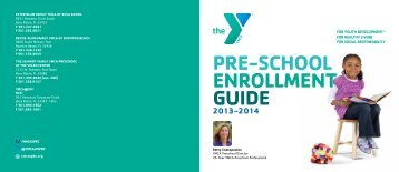 Preschool Brochure 2013-2014 Boca Raton - YMCA of South Palm ...