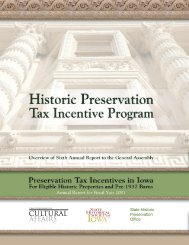 Historic Preservation Tax Incentive Program - State Historical ...