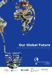 Our Global Future - Engineers Without Borders UK