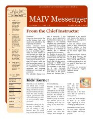 Aug/Sept 08 news - Martial Arts Institute of Vacaville