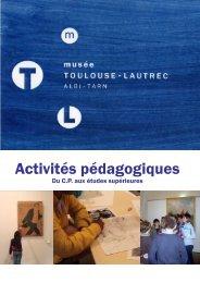 Activités pédagogiques - Musées de Midi-Pyrénées
