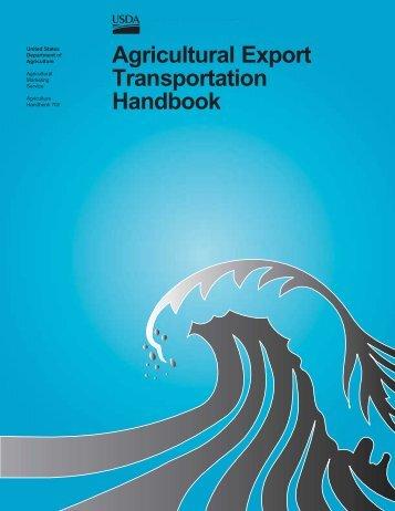Ag. Export Transportation Hdbk - Foreign Agricultural Service - US ...