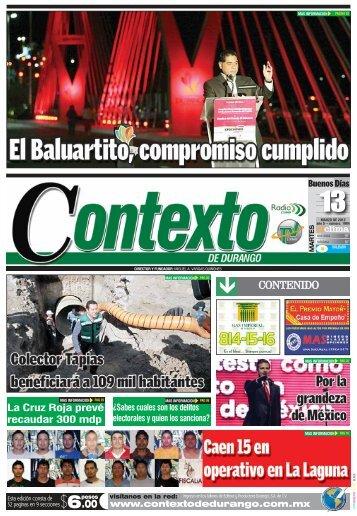 CONTENIDO - Contexto de Durango