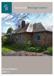 Tasmanian Heritage Council Annual Report 2010-11