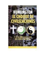Huntington, Samuel - El choque de civilizaciones