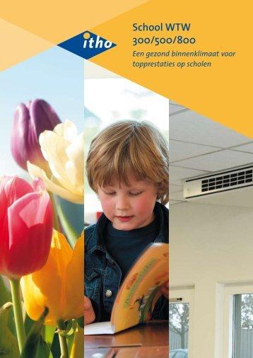 Schoolventilatie Brochure - van der Valk Comfort