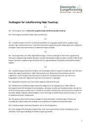 Vedtægter for Lokalforening Høje Taastrup. - Danmarks ...