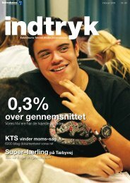 over gennemsnittet - Københavns Tekniske Skole