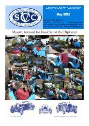 Canberra Chapter Newsletter - vscca