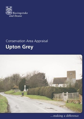 Conservation Area Appraisal for Upton Grey - Basingstoke and ...