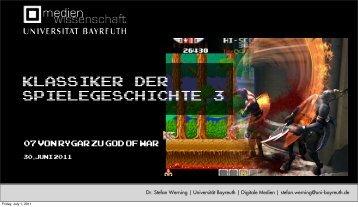 07 Von Rygar zu God of War Klassiker der Spielegeschichte 3