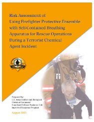 (FFPE) with Self-Contained Breathing Apparatus (SCBA) for Rescue
