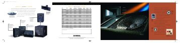 Specification Sheet - All Pro Sound