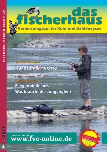 fischerhaus 1 2010 - Fischerei-Verein Essen e.V.