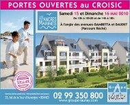 PORTES OUVERTES au CROISIC - Groupe Launay