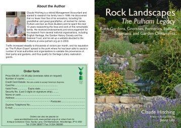 Rock Landscapes - The Association of Gardens Trusts