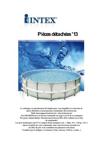 Catalogue Pièces détachées Consommateurs 2013 FR - Nicotoy